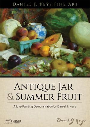 Antique Jar and Summer Fruit - Download