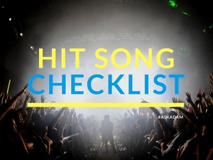 Billboard Hit Song Checklist