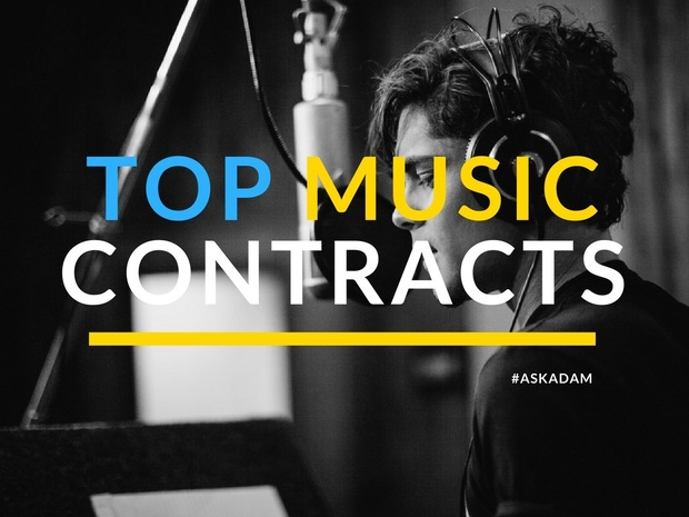 Top 12 Essential Music Industry Contracts