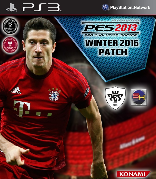 PES 2013 Winter Patch 2016 for PS3 CFW
