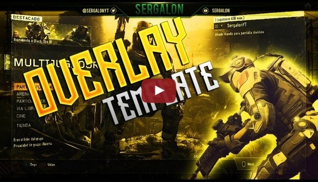 Overlay Call of Duty Template PSD - Free Download | Se