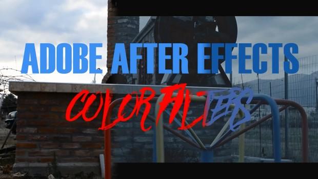 ADOBE AFTER EFFECTS - CINEMATIC COLOR GRADING FILTER PACK 1