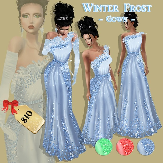 WINTER FROST GOWN