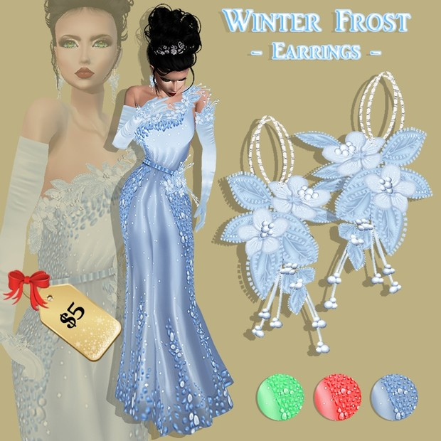 WINTER FROST EARRINGS