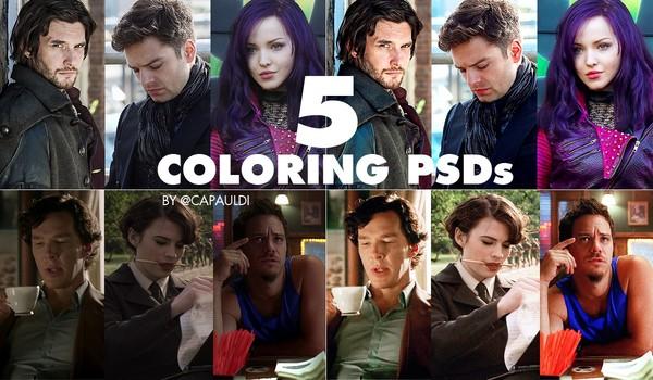 5 Coloring PSDs