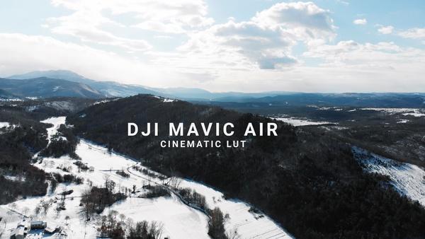 DJI MAVIC AIR Cinematic LUT by Mauro's Films