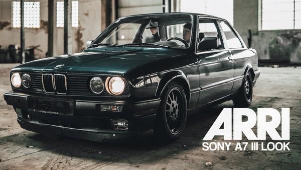 SONY A7 III SLOG2 ARRI LOOK