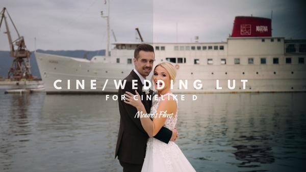 Mauro's Cine/Wedding LUT  GH4/G7/G80/GH5