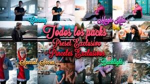 Todos los PACKS + Preset EXCLUSIVO + 2 Pinceles EXCLUSIVOS + Tutorial   @donrubenblanco