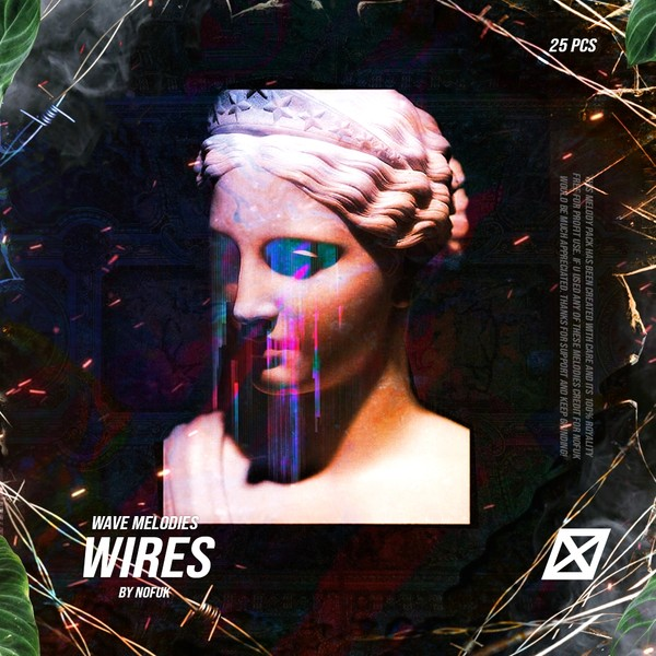 WIRES Trap guitar + flute Melodies (STEMS)