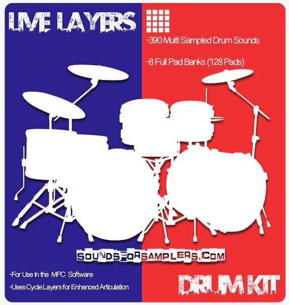 LIVE LAYERS CYCLE DRUM KIT