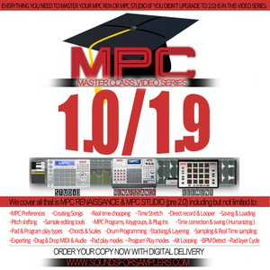 Akai MPC Software 1.0 / 1.9 Instructional (For the MPC Renaissance & MPC Studio)