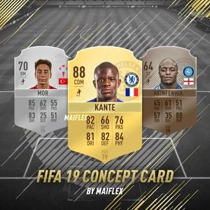 FIFA 19 EDITABLE CONCEPT CARD
