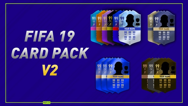 FIFA 19 SPECIAL CARDS TEMPLATE *FULLY EDITABLE*
