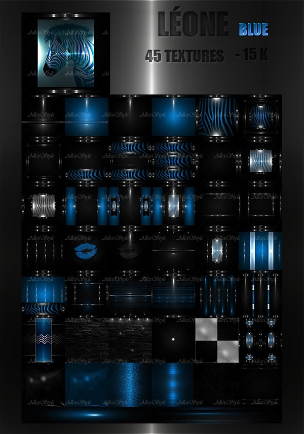 "IMVU TEXTURES FILE "" LEONE BLUE"""