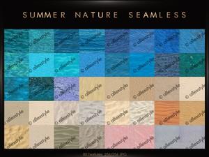 (80tex) SUMMER NATURE SEAMLESS
