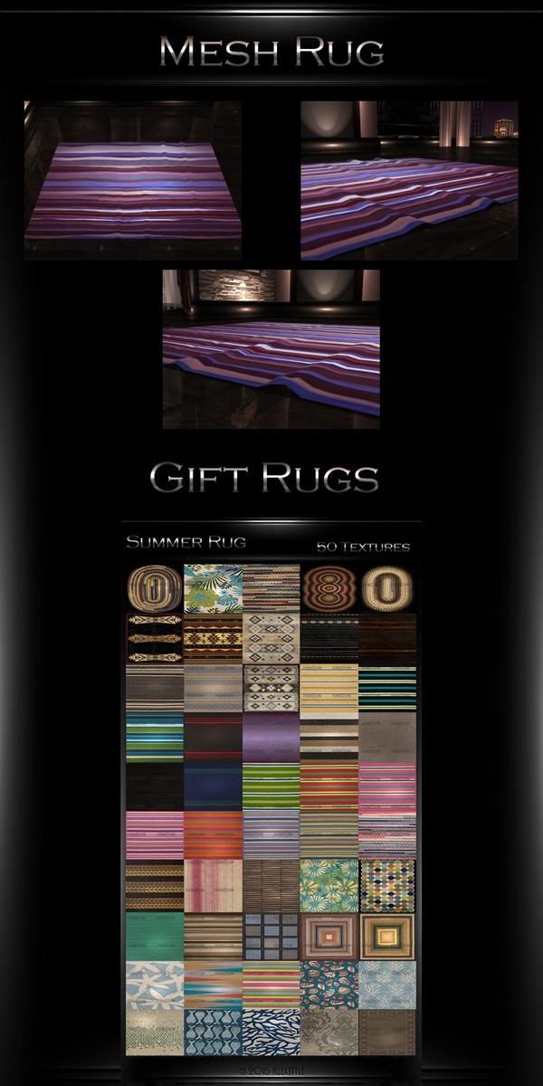 Rug Mesh+ 50  Textures Gift