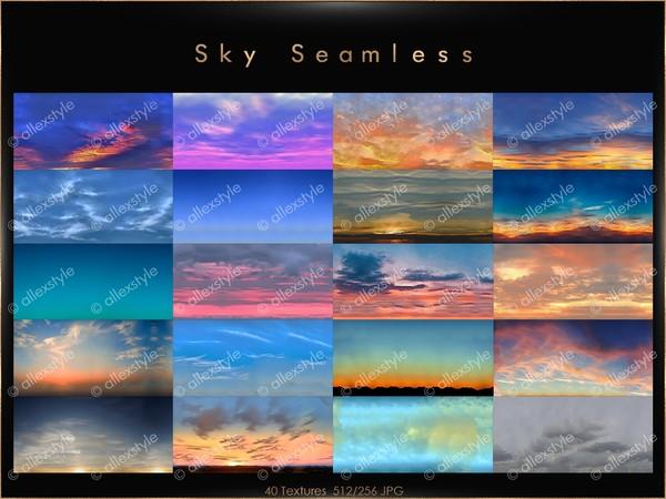 SKY SEAMLESS TEXTURES