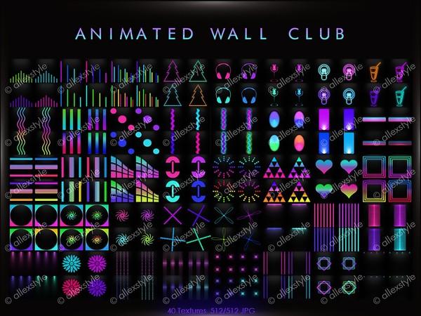 ANIMATED WALL CLUB