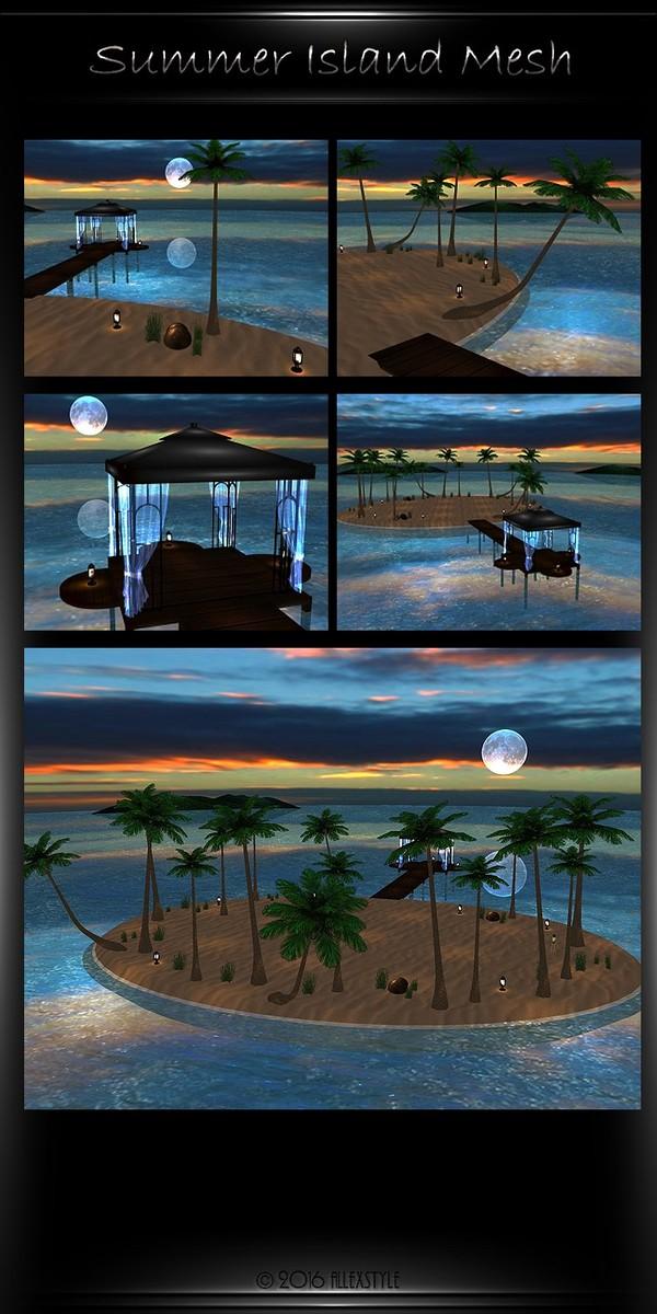 Summer Island Simple