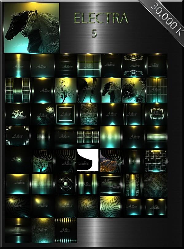 "IMVU TEXTURES FILE ""ELECTRA-5"""