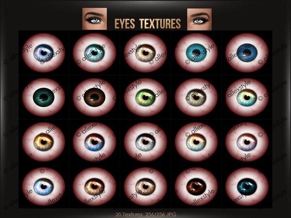 Eyes Textures