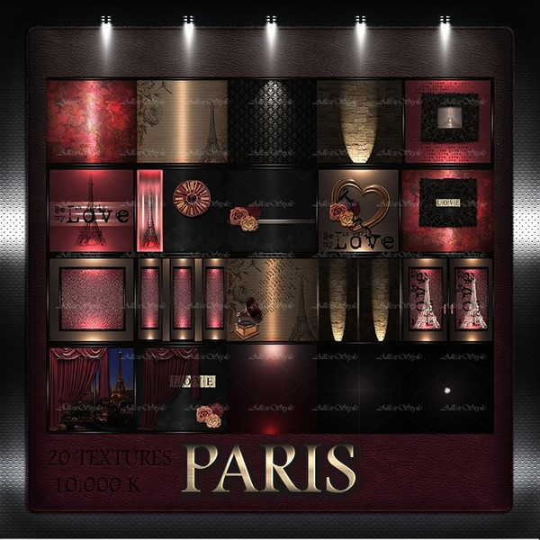 "IMVU TEXTURES FILE "" PARIS"""