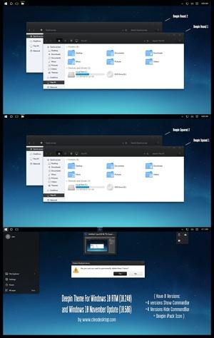 Deepin Theme For Windows 10