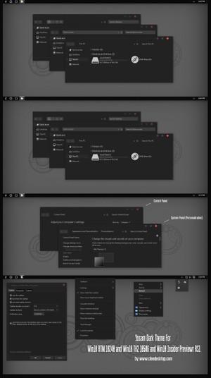 Yosem Dark Theme For Windows 10