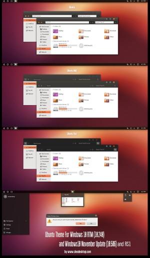 Ubuntu Theme For Windows 10