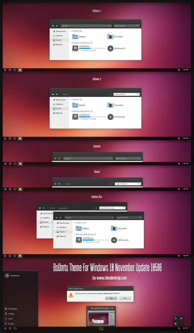 BoOmtu Theme For Windows 10