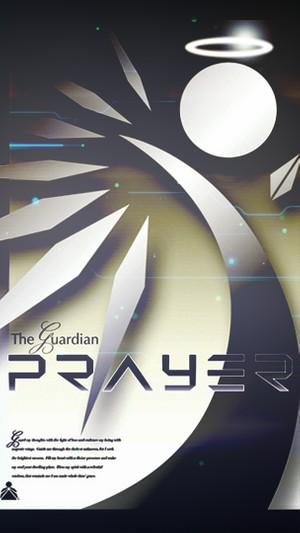 Guardian Prayer Cell Phone Screen Saver