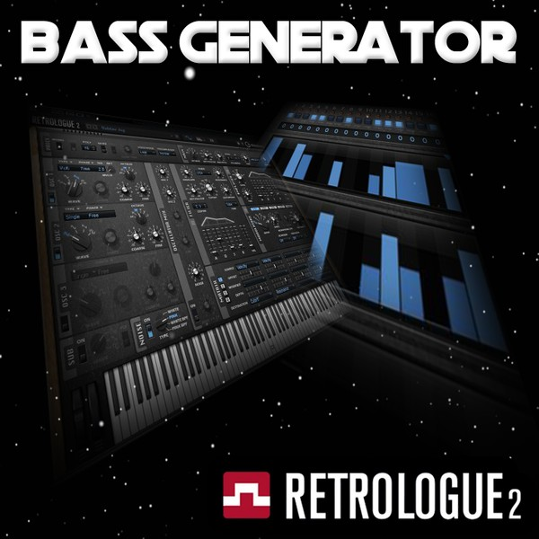 Bass Generator Retrologue Presets