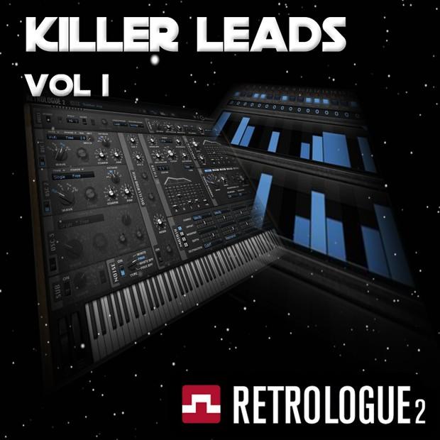 Cubase Tools - Retrologue Killer Leads Vol 1 - VST3 Presets