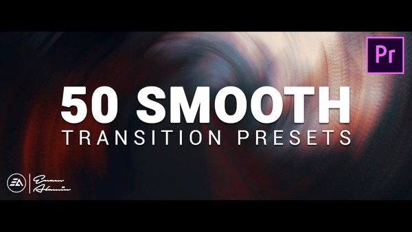 50+ Smooth Transitions Preset Pack for Adobe Premiere Pro