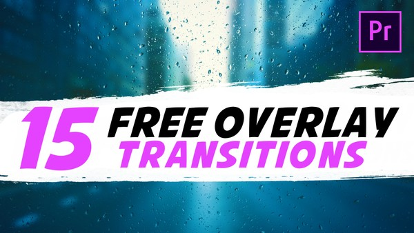 15 FREE Transitions Pack Matte Overlay | Premiere Pro Tutorial