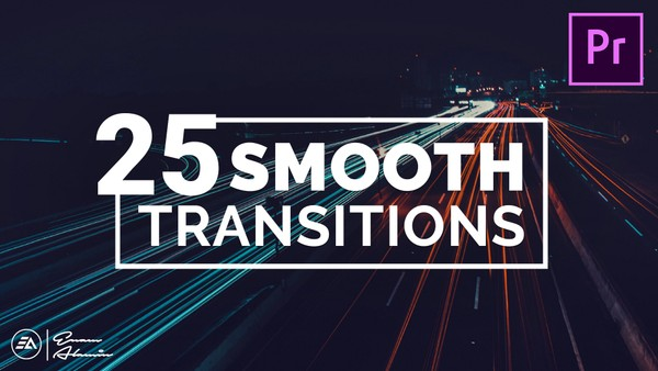 25 Smooth Transitions for Premiere Pro with Sound Effects