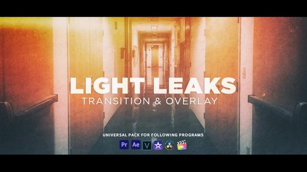 30 FREE Professional Light Leaks Transition & Film Burn Overlay Pack