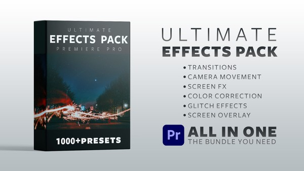 The Ultimate Presets Pack for Premiere Pro - ALL IN ONE
