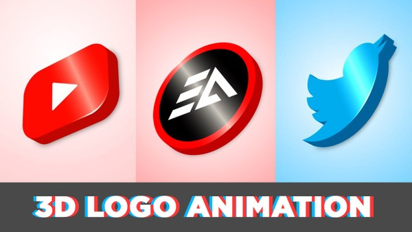 3D Logo Animation in After Effects - No Plugin (FREE Template)