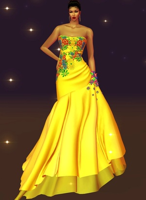 Miss Brazil Gown