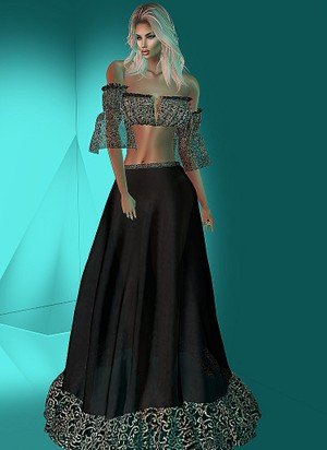 Gipsy Chic Gown