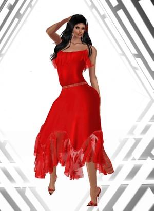 Gipsy Chic Midi Dress