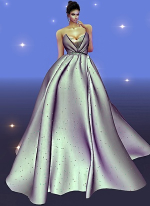 Star Light Gown