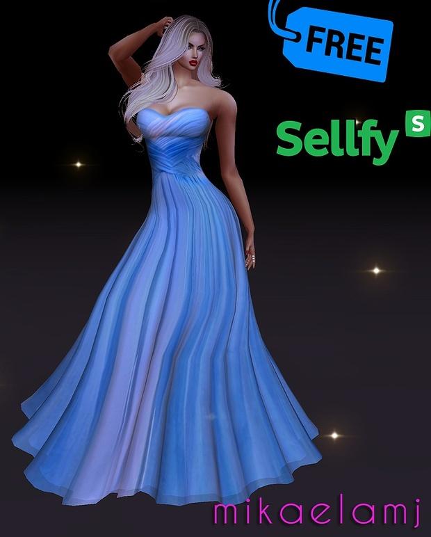Blue Summer Gown