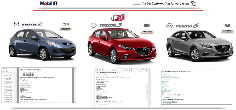 Mazda 2 3 6 2014 Workshop Manual Autoservicemanual567