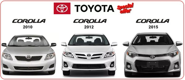 TOYOTA COROLLA 2010-2012 & 2015-2017  WORKSHOP MANUALS