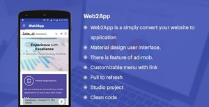 WebToApp (Convert your Website to Application) for ANDROID STUDIO