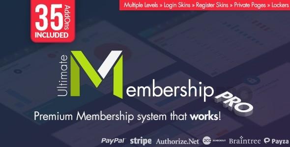 Ultimate Membership Pro WordPress Plugin FULL ALL FILLES DOCUMENTATION
