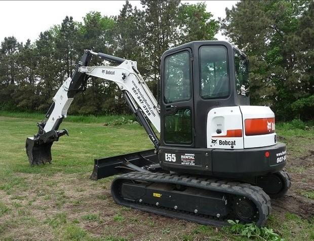 Bobcat E55 Compact Excavator Service Repair Manual (S/N ARWM11001 & Above, S/N ASW311001 & Above)